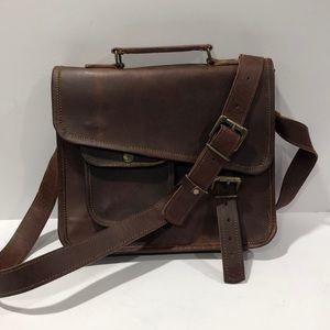 Vintage 1957 Oiled Leather Messenger bag